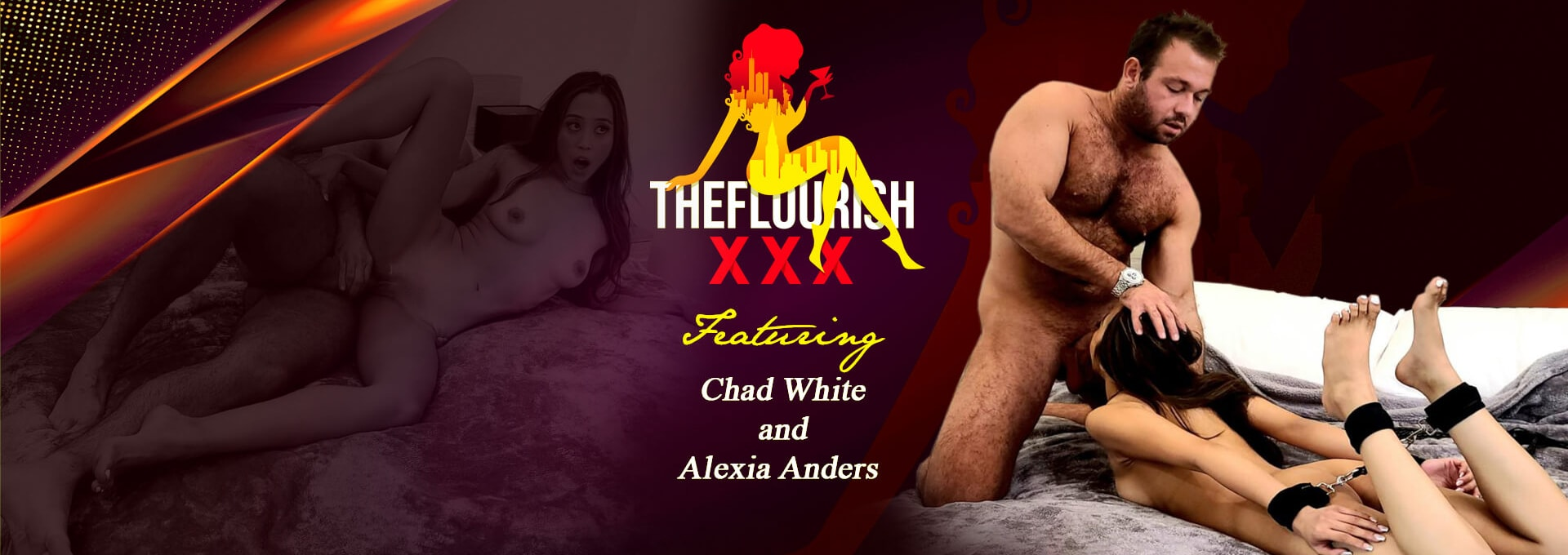 Chad White and Alexia Anders